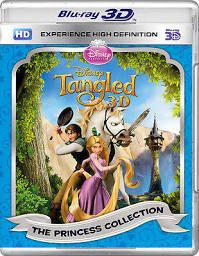 Tangled (Blu-ray 3D) (2010) blue ray and digital copy