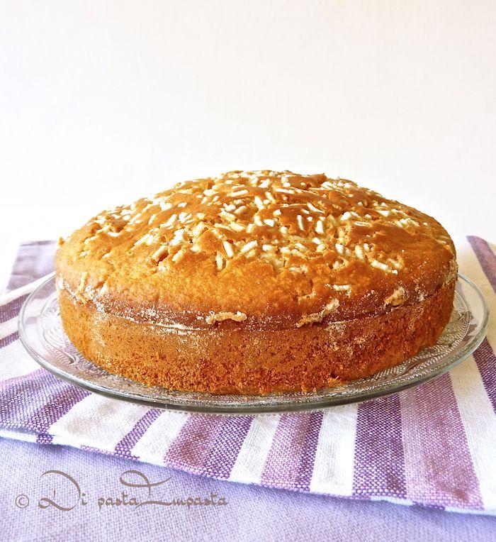Torta vegana allo sciroppo d'acero (senza uova, burro, zucchero e lattosio)
