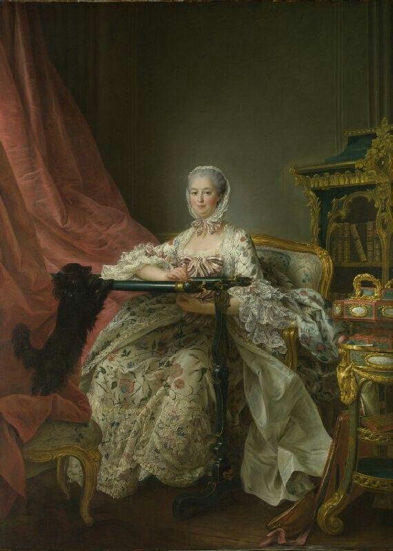 Мадам де Помпадур   1763-4,Франсуа-Юбер Друэ