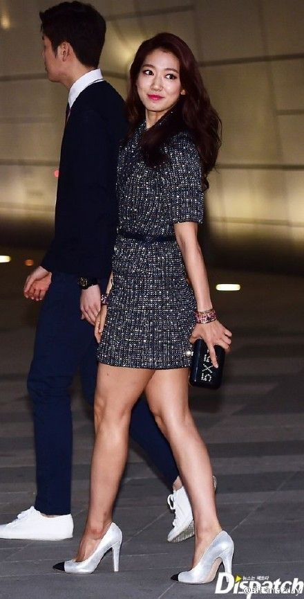 Stars Step Out for the Chanel 2015 Cruise Collection Fashion Show in Seoul | A Koala's Playground - Park Shin Hye