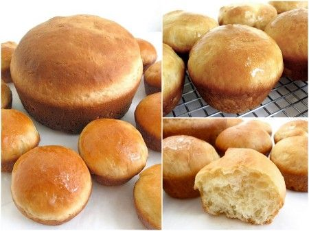 Little Sally Lunn Buns: step-by-step directions and tips.