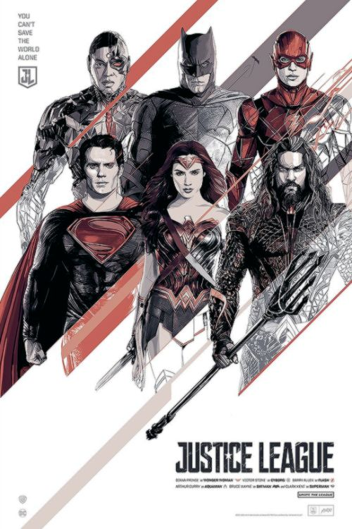 Justice League by Oliver Barrett