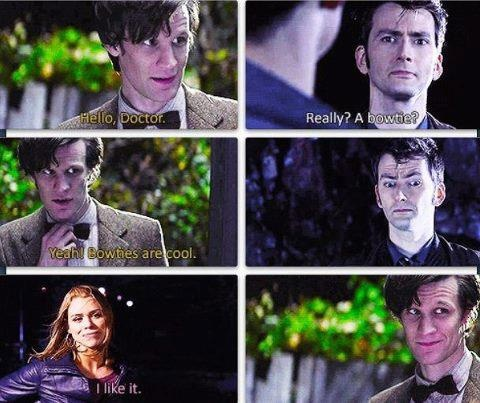 I am now going to be disappointed if this is not in the 50th anniversary episode. At least, partly disappointed. The writers are so good I can't truly be disappointed. :)