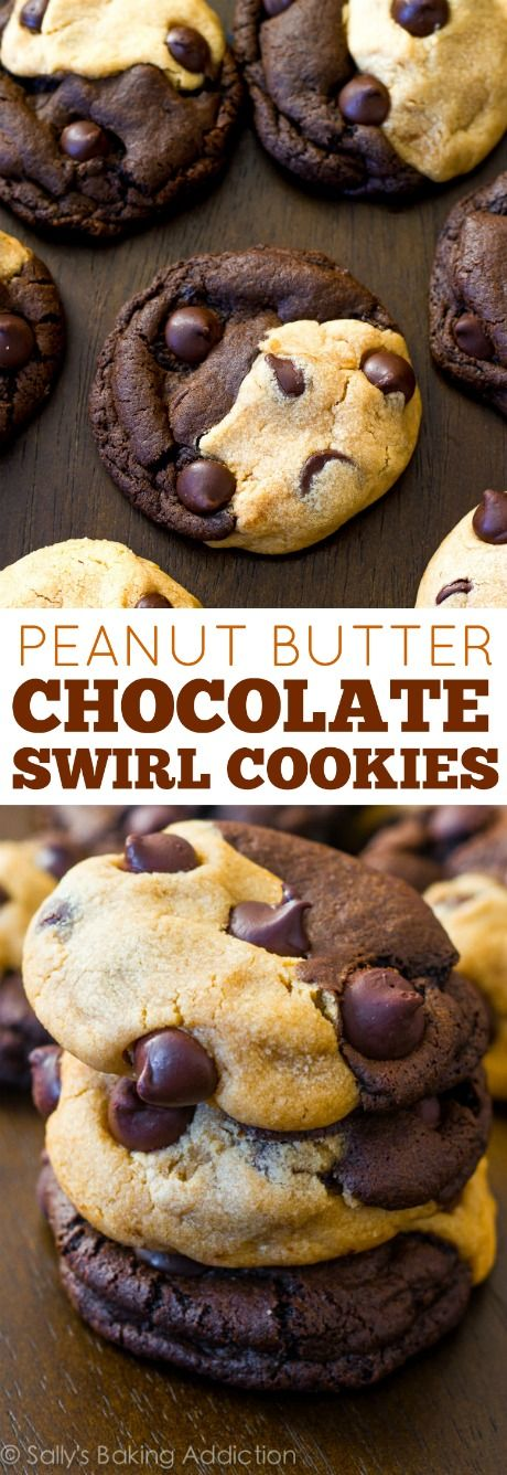The most perfect cookie for all of you chocolate and peanut butter lovers!