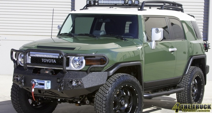 Custom FJ Cruiser by 4 The Truck