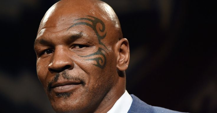 Mike Tyson yelled at Canadian news anchor Nathan Downer.