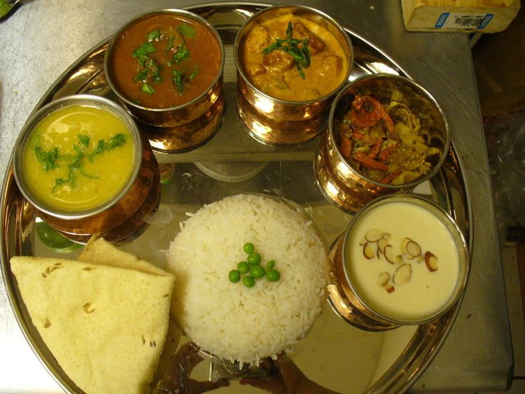 Nepali Thali a daily meal in Nepalese life Veg thali