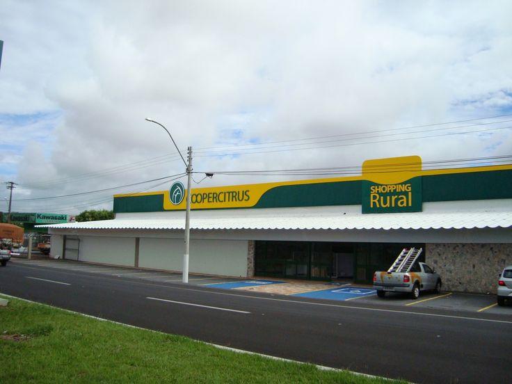 Projeto | Fachada Coopercitrus - Shopping Rural      Araçatuba-SP