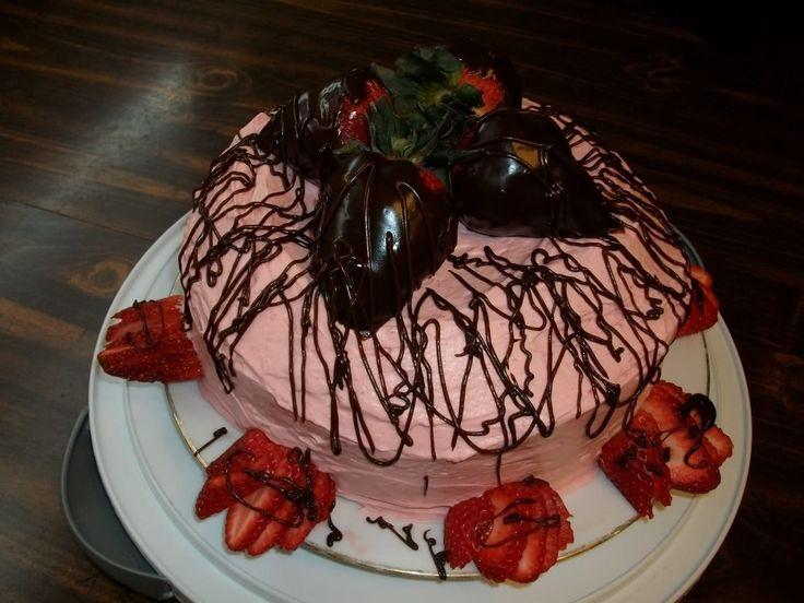 Chocolate Tequila Rose Cake