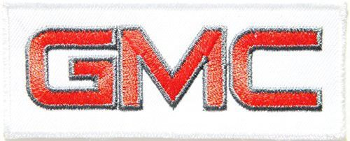 GMC Motor Logo Sign Truck Van Car Racing Patch Iron on Applique Embroidered T shirt Jacket Costume Gift BY SURAPAN