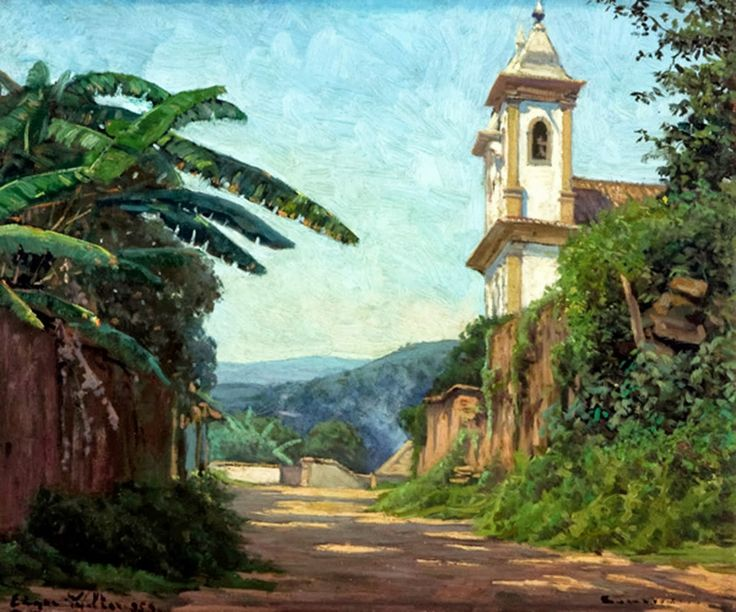 Edgar Walter Simmons, nasceu na cidade de Nova Lima em 20 de novembro de 1917. Pintor brasileiro de orígem inglesa, filho de Frederick James...