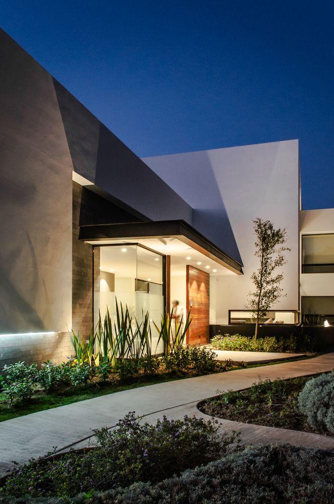 M s de 1000 ideas sobre planos de casas modernas en - Diseno de casa interior ...
