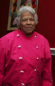 Leah Chase (born January 6, 1923) is a New Orleans chef, author and television personality. Known as the Queen of Creole Cuisine, Chase promoted African American art and Creole cooking. Her restaurant, Dooky Chase, was known as a gathering place during the 1960s among many who participated in the Civil Rights movement]; and, her restaurant was known as a gallery due to its extensive African American Art collection.