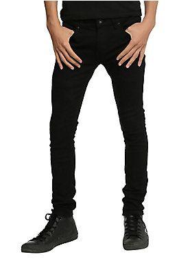 Get stung! // XXX Rude Black Stinger Jeans