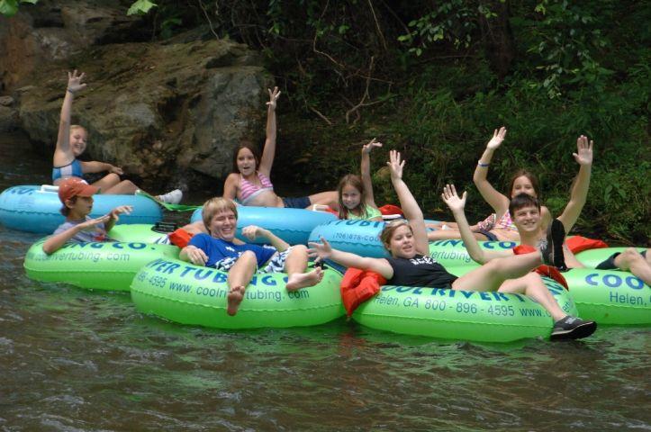 Cool River Tubing   Helen, Georgia