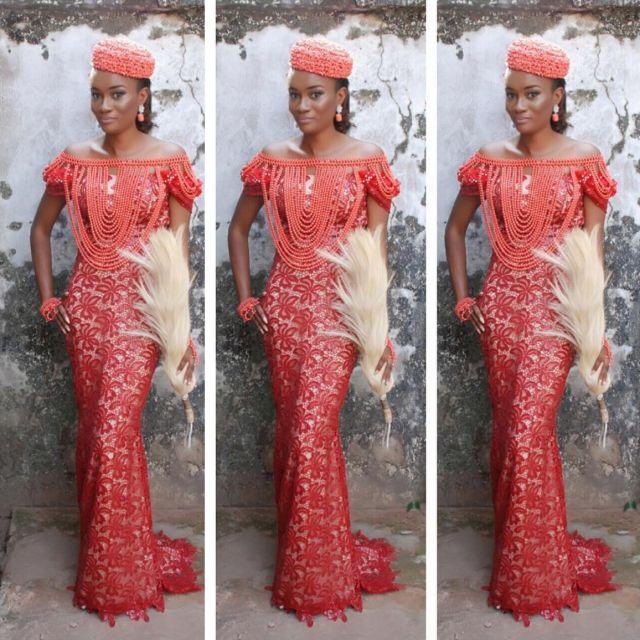 Igbo Kwenu! All Hail These 11 Gorgeous Igbo Brides Serving Style