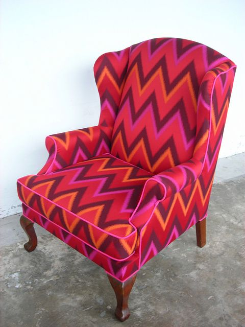 Wing Chair by Like That One, via Flickr