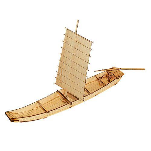 Wooden Model Ship Kits Junior Series- Scale models Korea Ship 1