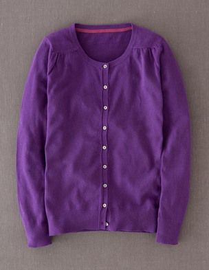 I've spotted this @BodenClothing Pretty Piped Cardigan Blue Violet