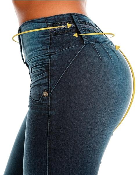 Butt lifter jean
