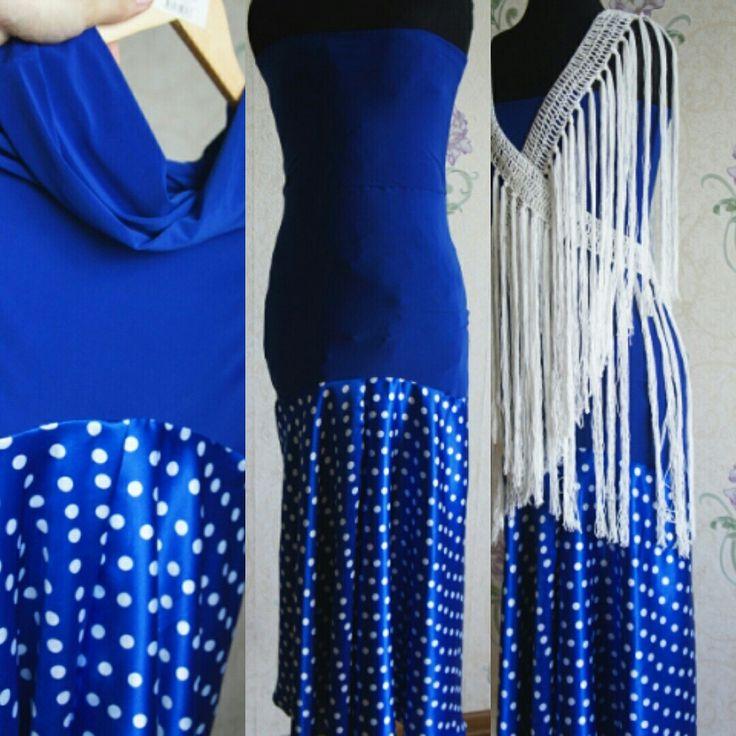 Flamenco Falda Skirt Vestido Flecos #оляли