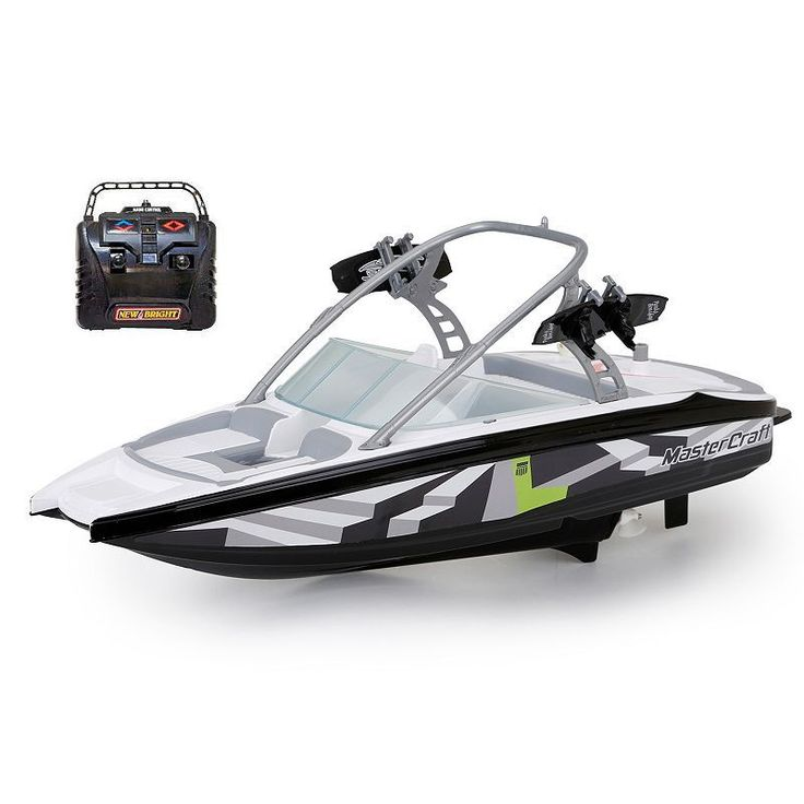 New Bright RC 18-in. Master Craft Boat, Black
