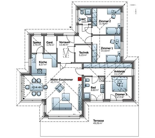 612 best Haus images on Pinterest House plans, Architecture and - badezimmer a plan