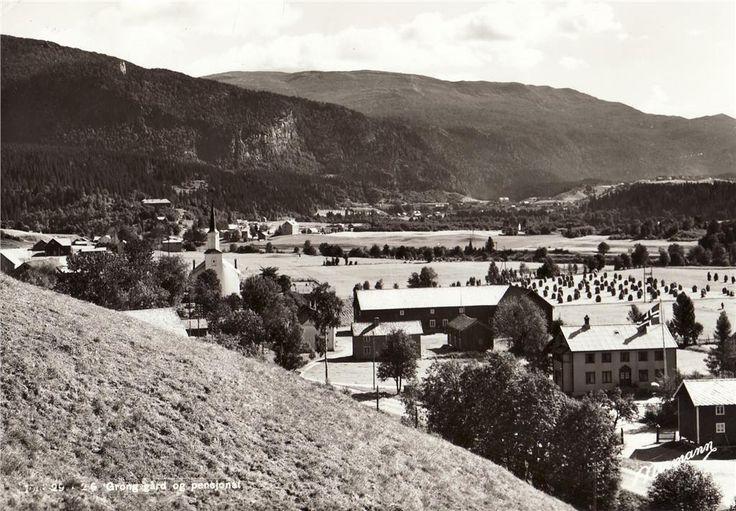 Nord-Trøndelag fylke Grong gård og pensjonat Utg Normann Brukt 1963