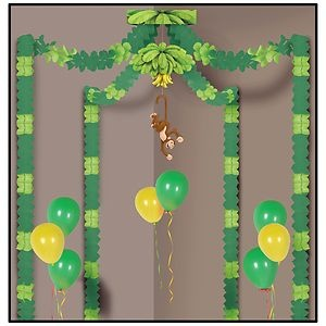monkey party canopy