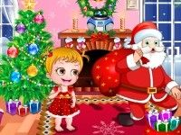 Baby Hazel is expecting Santa at her place and is very keen to know what she gets as Christmas gift. Play Baby Hazel Christmas Time game on topbabygames.com at http://www.topbabygames.com/baby-hazel-christmas-time.html