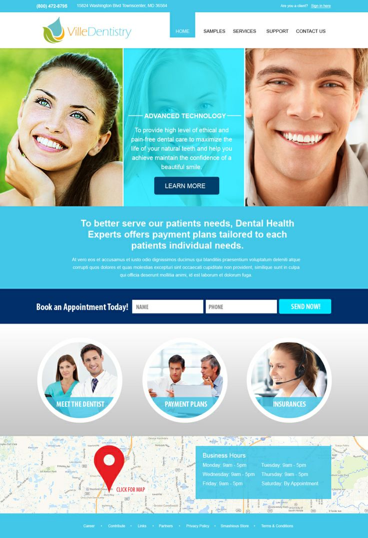 Dentist Office Web Design Dentists Office Web And Design