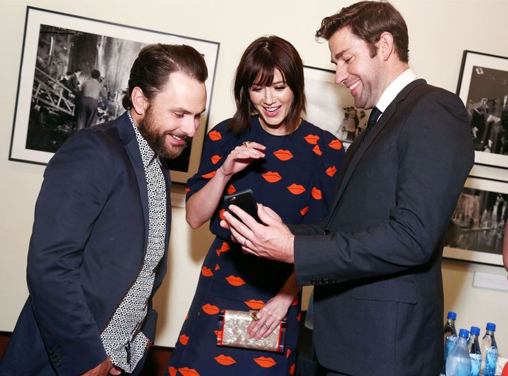 Charlie Day, Mary Elizabeth Winstead & John Krasinki from Movie Premieres: Red Carpets and Parties!  The Hollars co-stars reunite at the Eternal Water-hosted premiere of their indie film in L.A.