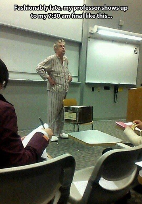 funny teachers with a sense of humor