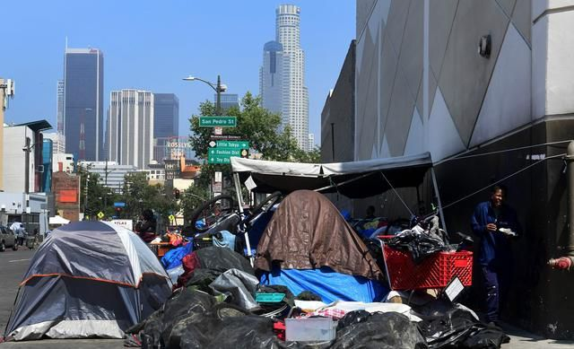 Some Of Los Angeles Homeless Could Get Apartments That Cost More Than Private Homes Study Finds Polytrendy Los Angeles Skid Row California