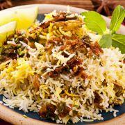 Biryani (rijst met heet gekruid vlees) recept