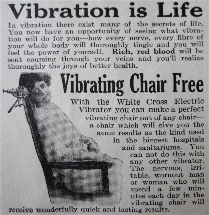 white cross electric vibrator