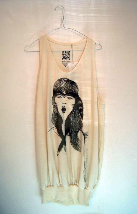 Noora Federley illustration for our JETI -art&clothing brand.