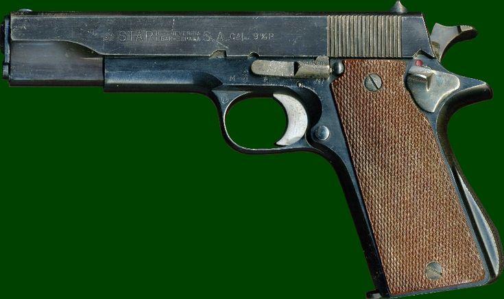 SADF.info star - 9mm Parabellum - standard officer side arm