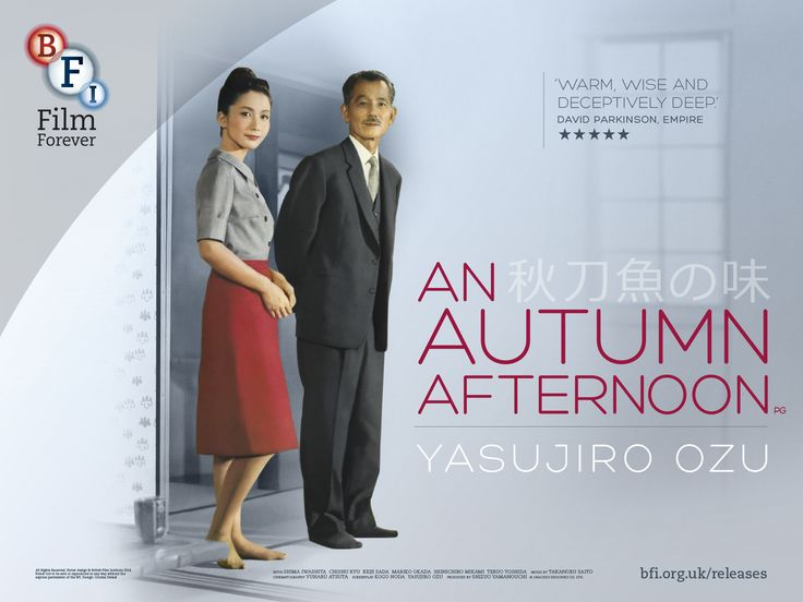 An Autumn Afternoon (Yasujirō Ozu, 1966)