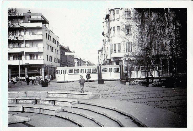Dugonics tér az 1980-as évek legelején.