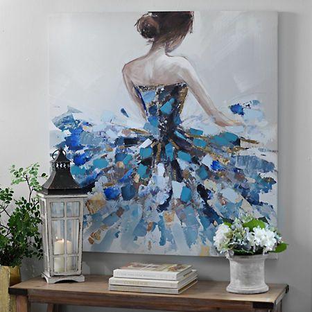 Balletic Beauty Canvas Art Print | Kirklands