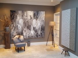 52 best images about xxl schilderijen taupe xxl paintings taupe on pinterest taupe studios - Bruin taupe ...