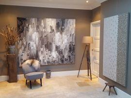 17 beste idee n over grijs beige verf op pinterest hal verfkleuren hal kleuren en populaire - Taupe kleuren schilderij ...