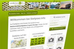 Stellplatz.info - Wohnmobilstellplätze in ganz Europa