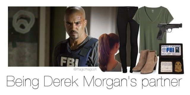 Derek Morgan's partner