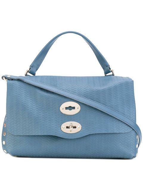 ZANELLATO cross-body satchel tote. #zanellato #bags #leather #hand bags #satchel #