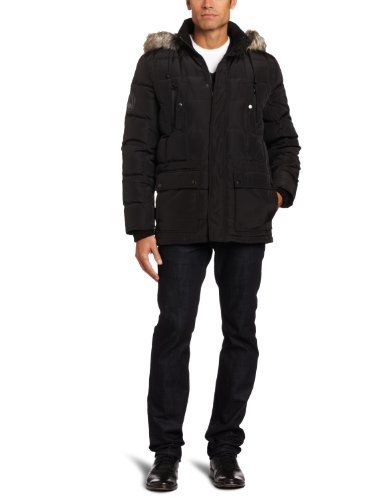 Kenneth Cole Men's Down Parka Outerwear, Black, Large Kenneth Cole,MEN'S FASHION to buy just click on amazon here http://www.amazon.com/dp/B008J10V1A/ref=cm_sw_r_pi_dp_YlCxsb182MSAV395