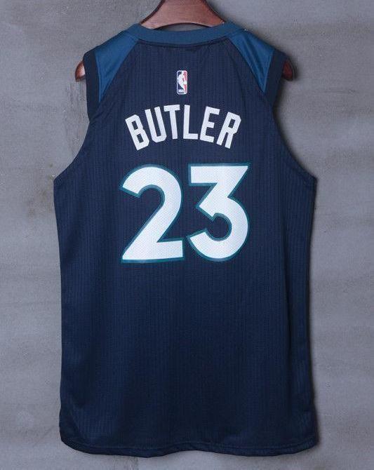 fc0e688bb84f Men 23 Jimmy Butler Jersey Blue Minnesota Timberwolves Jersey Player ...