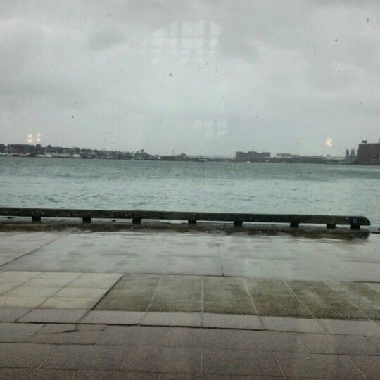 The view from the Exchange Conference Center #Boston #harbour