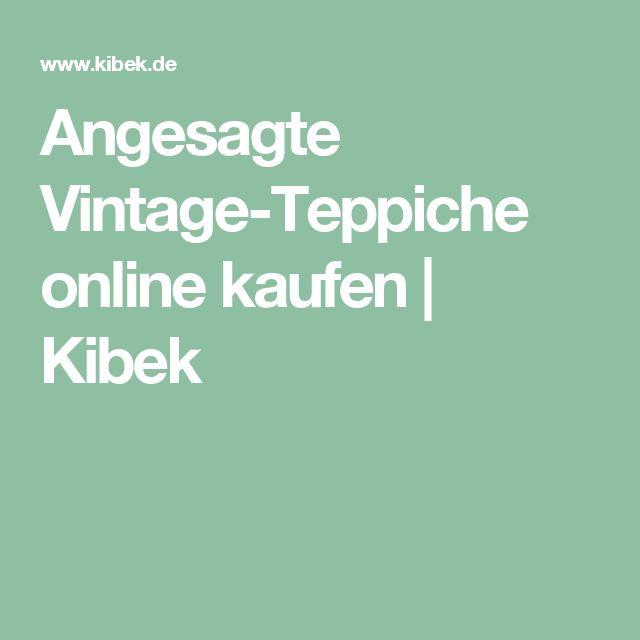 Angesagte Vintage-Teppiche online kaufen | Kibek